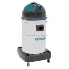 Двухтурбинный пылесос для сухой и влажной уборки KV52I 60 л. нержав. Профессиональные пылесосы