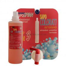 Жидкое средство для стирки Sapo Colorati Для стирки белья и химчистки